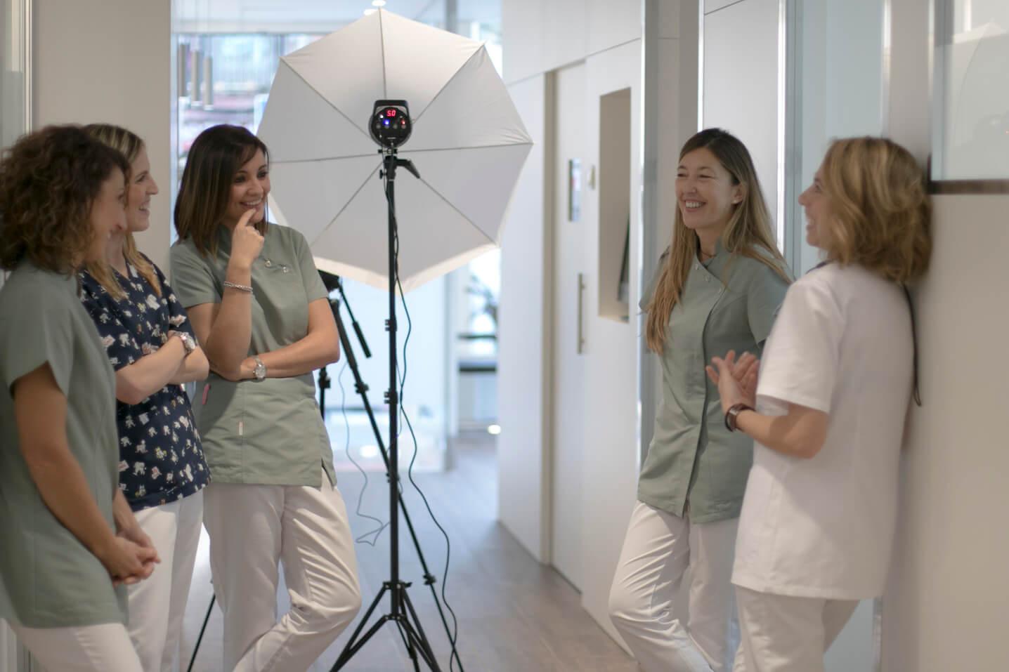 Fotografía Corporativa para clínicas | Docmedia Barcelona