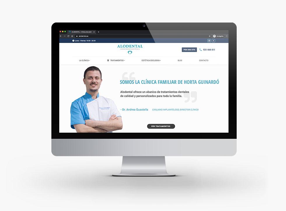 diseño-web-Alodental-clinica-dental-y-estetica