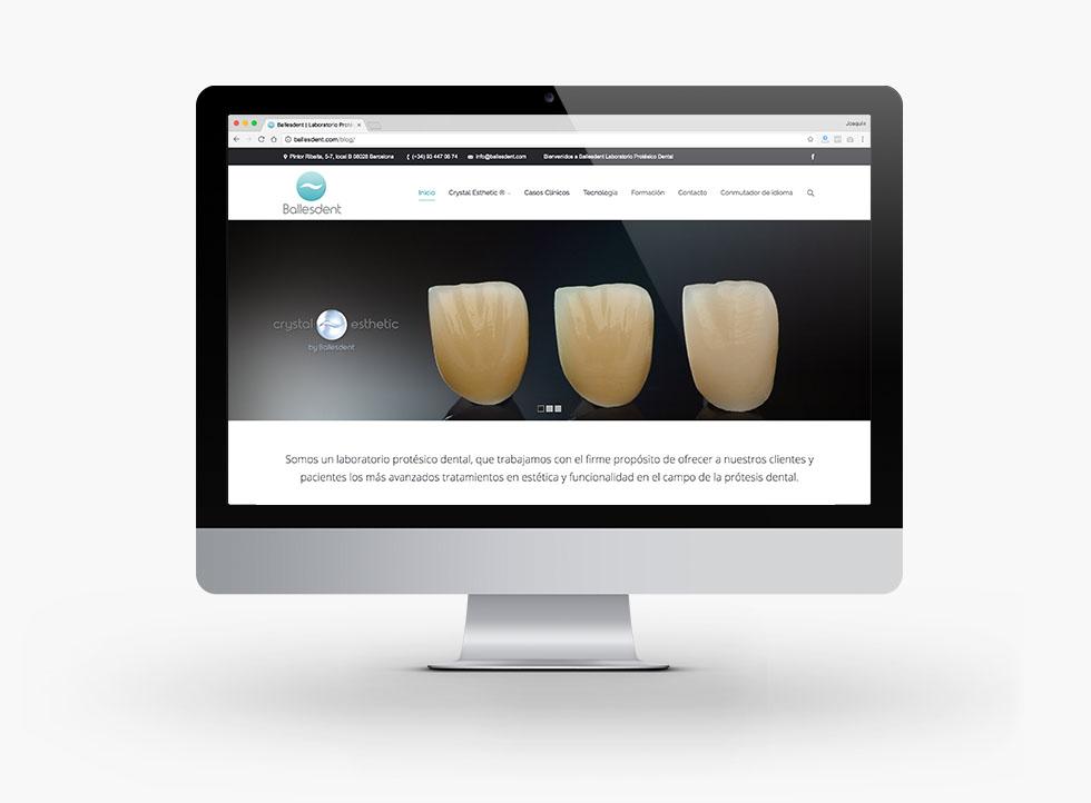 diseño-web-Ballesdent-laboratorio-protesico-dental
