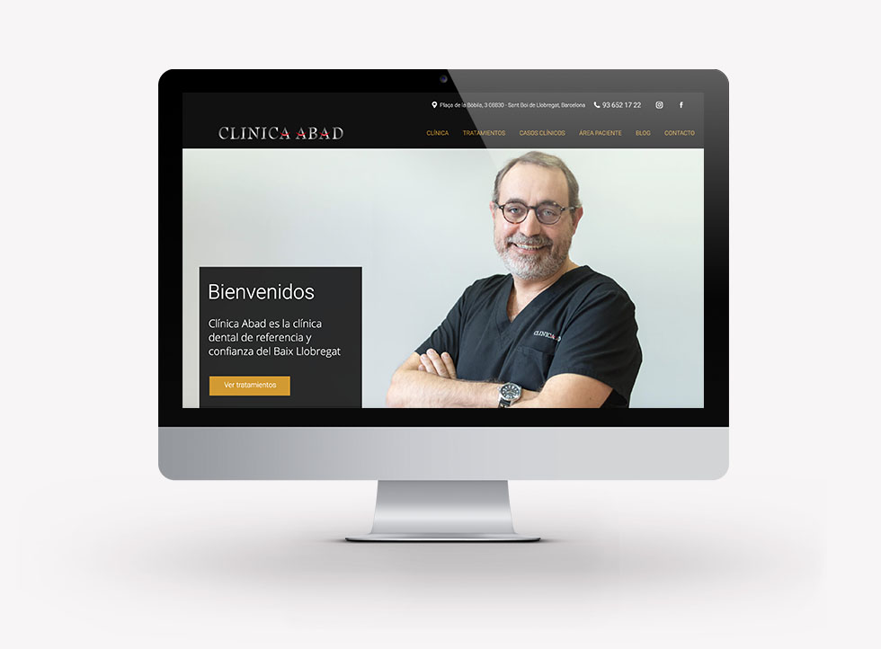 diseño-web-clinica-dental-abad-sant-boi