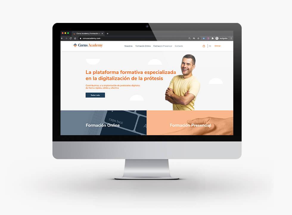 diseño-web-corus-academy-ecommerce-elearning