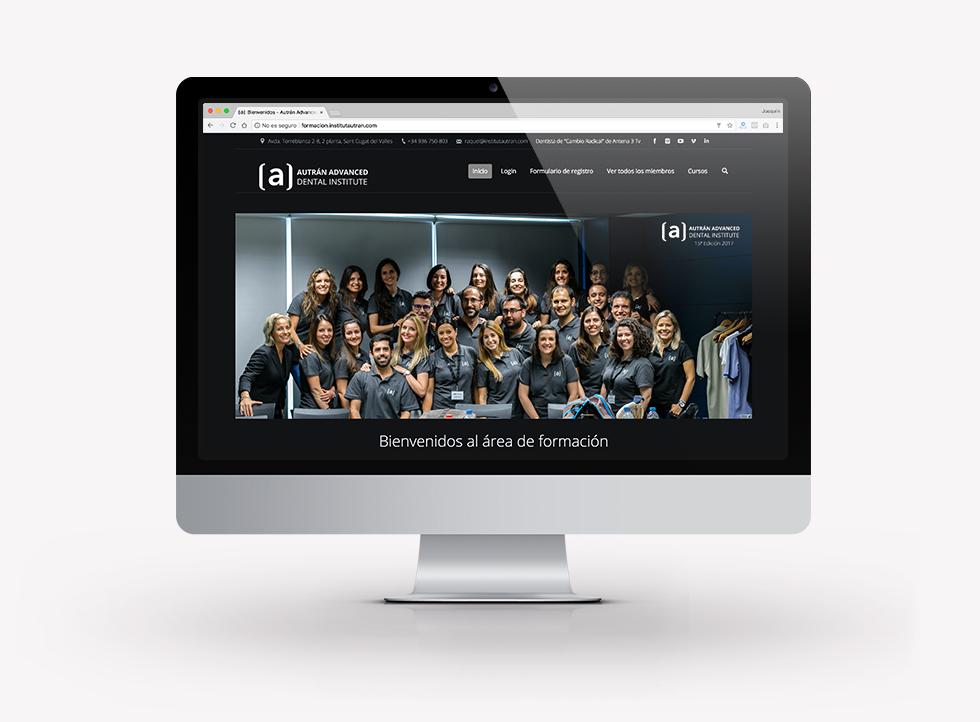AADI | Docmedia diseño web para formación en Barcelona
