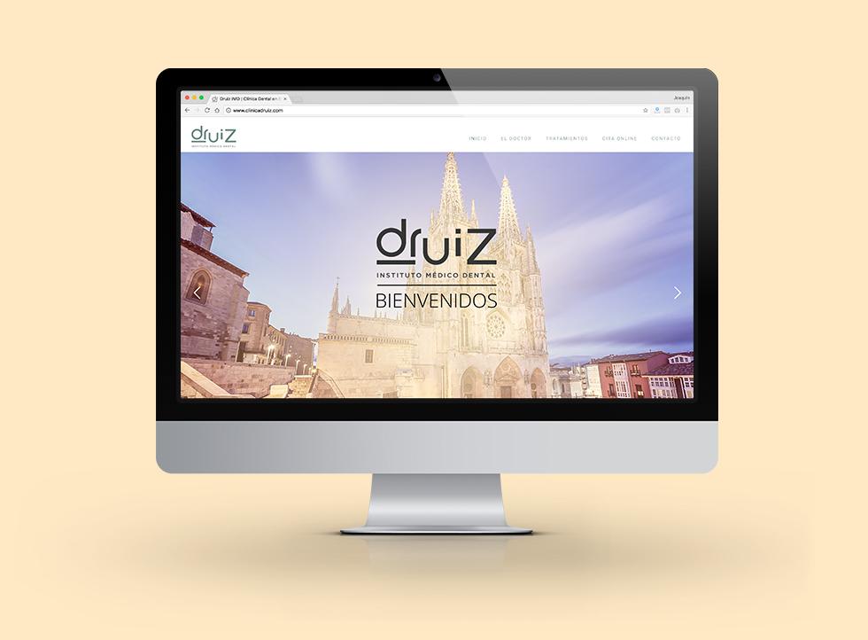 Clínica Druiz | Docmedia Diseño web para clínicas en Barcelona